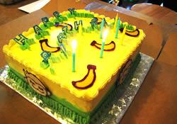 アメリカで子供の誕生日パーティをする