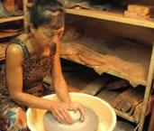 安芸子・グラハムさん (Akiko's Pottery 陶芸家)