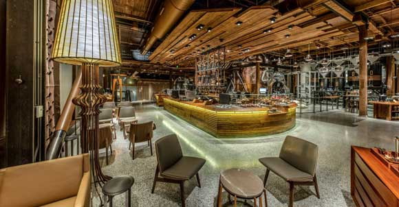 Starbucks Reserve and Tasting Room