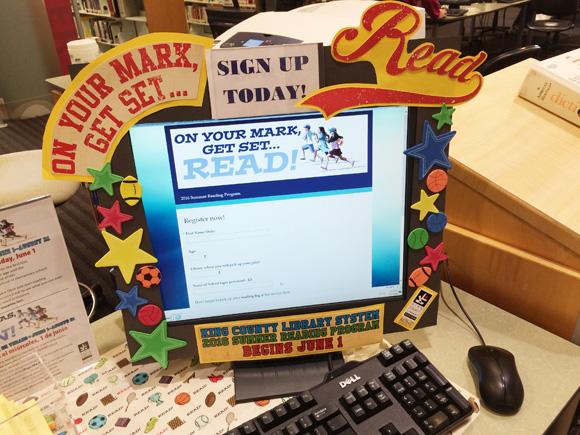 キング郡図書館の子供の夏の読書プログラム