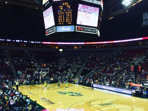 WNBA シアトル・ストーム