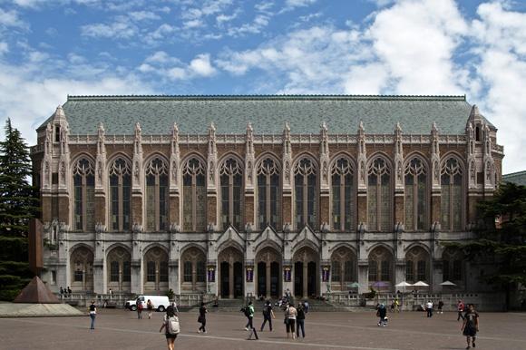 学校案内:University of Washington Seattle ワシントン大学シアトル ...